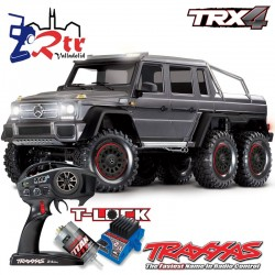Traxxas TRX-4 6wd 1/10 Scale & Trail Crawler Mercedes G63 AMG Plata