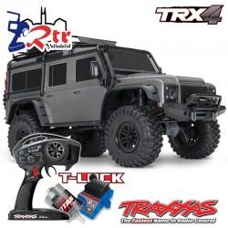 Traxxas TRX-4 4wd 1/10 Crawler Land Rover Defender Gris
