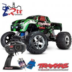 Traxxas Stampede 2wd Escobillas Monster Truck 1/10 RTR Verde