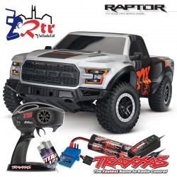 Traxxas Ford F-150 Raptor 2W Short Course Escobillas Fox