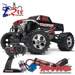 Traxxas Stampede 4wd Escobillas Monster Truck 1/10 RTR (bat+Carg)