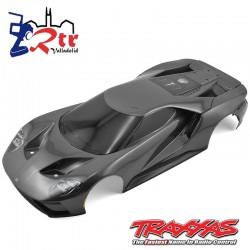 Carrocería cuerpo Traxxas 4TEC 2.0 Ford GT Negro TRA8311X