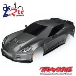 Carrocería Traxxas Chevrolet Corvette Z06 Gris TRA8386A