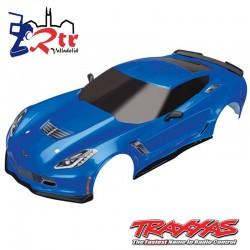 Carrocería Traxxas Chevrolet Corvette Z06 Azul TRA8386X