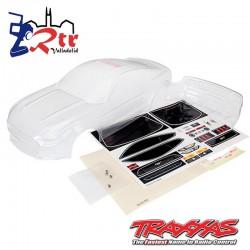 Carrocería Traxxas Ford Mustang Transparente TRA8386X