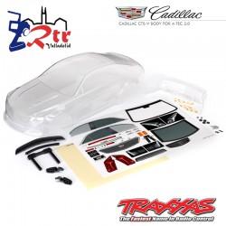 Carrocería Traxxas Cadillac CTS-V Transparente TRA8391