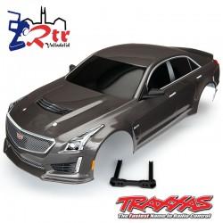 Carrocería Traxxas Cadillac CTS-V Plata TRA8391X