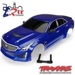 Carrocería Traxxas Cadillac CTS-V Azul TRA8391A