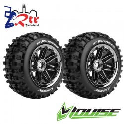 Ruedas 17mm Monster Truggy Louise ST-PIONEER Pegadas Rellena