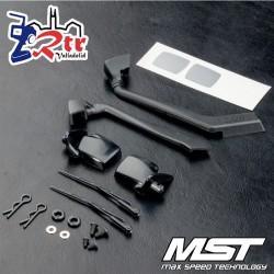 MST J3 Espejo lateral y juego de snorkel MST230113