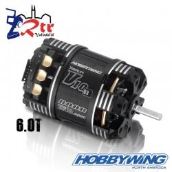 Motor Hobbywing Xerun V10 Brushless G3 5500kV 2s 6.0T Sensored