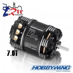 Motor Hobbywing Xerun V10 Brushless G3 4800kV 2s 7T Sensored