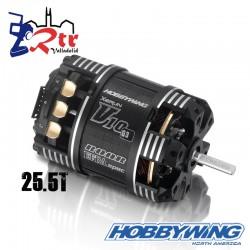 Motor Hobbywing Xerun V10 Brushless G3 1500kV 2-3s 25.5T Sensored