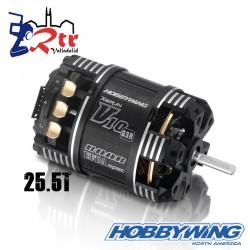 Motor Hobbywing Xerun V10 Brushless G3R 1780Kv 2-3s 25.5T Sensored Sensored