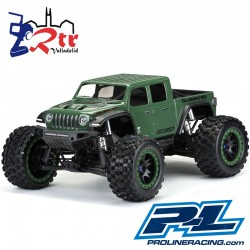 Proline Jeep Gladiator Rubicon Precortada Traxxas X-MAXX PL3533-17