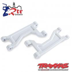 Brazos de suspensión Superiores Traxxas Blancos TRA8929A