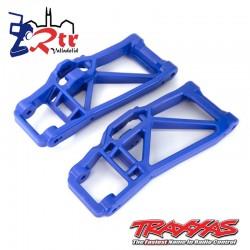 Brazos de suspensión Inferiores Traxxas Azules TRA8930X