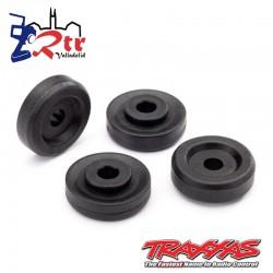 Arandelas de rueda, negras (4) TRA8957