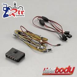 KillerBody Juego de luces LED con 14 LED Caja controladora Para LC70