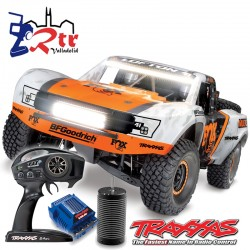 Traxxas Unlimited Desert Racert con led 4wd Brushless Short Course 1/6 Fox