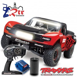 Traxxas Unlimited Desert Racert con led 4wd Brushless Short Course 1/6 Rigid