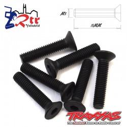 Tornillos Hexagonales 3x15mm 6 Unidades Traxxas TRA2553