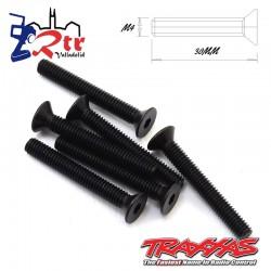 Tornillos Hexagonales 4x30mm 6 Unidades Traxxas TRA2533