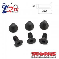 Tornillos Hexagonales 3X6 mm 6 Unidades Traxxas TRA2534