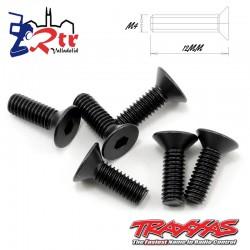 Tornillos Hexagonales 4X12 mm 6 Unidades Traxxas TRA2542