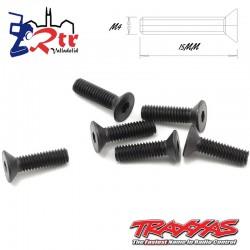 Tornillos Hexagonales 4X15 mm 6 Unidades Traxxas TRA2546