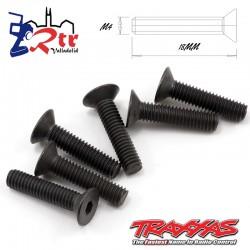 Tornillos Hexagonales 4X18 mm 6 Unidades Traxxas TRA2547