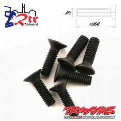Tornillos Hexagonales 3X10 mm 6 Unidades Traxxas TRA2551