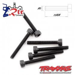 Tornillos Hexagonales 3X23 mm 6 Unidades Traxxas TRA2556