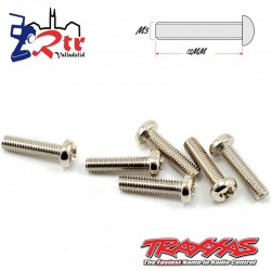 Tornillos Estrella 3X12 mm 6 Unidades Traxxas TRA2561