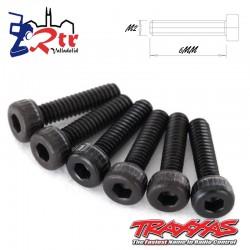 Tornillos Hexagonales 2X8 mm 6 Unidades Traxxas TRA2564