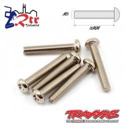 Tornillos Estrella 3X18 mm 6 Unidades Traxxas TRA2565