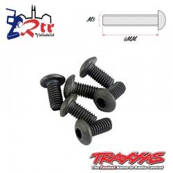 Tornillos Hexagonales 3X6 mm 6 Unidades Traxxas TRA2575