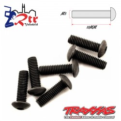 Tornillos Hexagonales 3X10 mm 6 Unidades Traxxas TRA2577