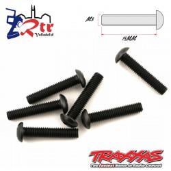 Tornillos Hexagonales 3X15 mm 6 Unidades Traxxas TRA2579