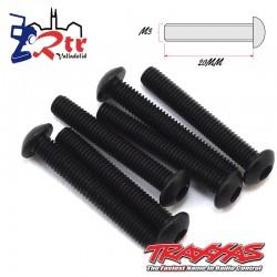 Tornillos Hexagonales 3X20 mm 6 Unidades Traxxas TRA2580