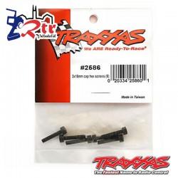 Tornillos Hexagonales 3X15 mm 6 Unidades Traxxas TRA2586