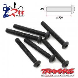 Tornillos Hexagonales 3X23 mm 6 Unidades Traxxas TRA2591
