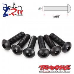 Tornillos Hexagonales 4X15 mm 6 Unidades Traxxas TRA2594