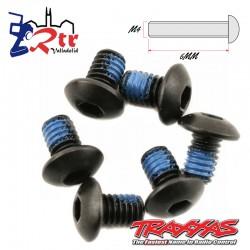 Tornillos Hexagonales 4x6 mm 6 Unidades Traxxas TRA3939