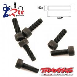 Tornillos Hexagonales 2.5x8mm 6 Unidades Traxxas TRA3965