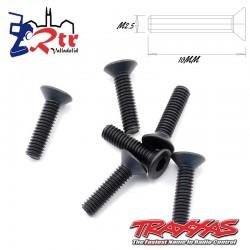 Tornillos Hexagonales 2.5x10mm 6 Unidades Traxxas TRA2523
