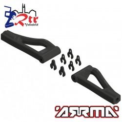 Brazos de Suspension Delanteros Superiores Arrma AR330215