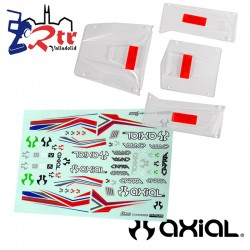 Paneles Cuerpo Transparente Axial Capra AXI230012