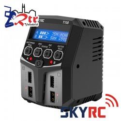 Cargador Lipo Balanceador SkyRc T100 AC Duo, 2-4S 2X50W