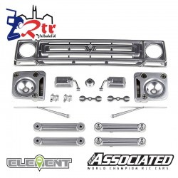 Partes decorativas Cromo Satinado enduro Element EL42125